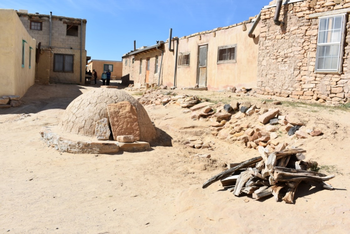 Acoma Pueblo, the longest continually inhabited community in North America