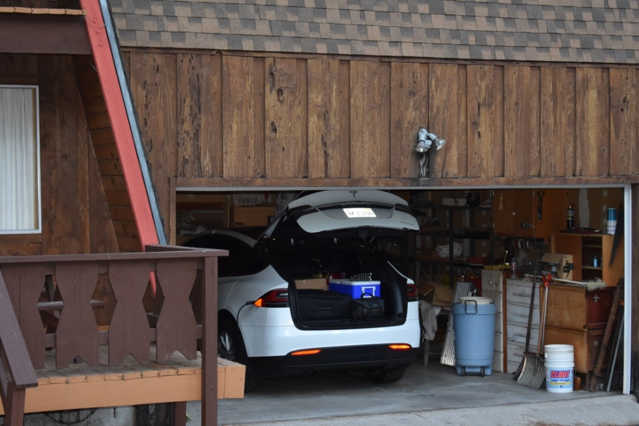 Charging at our Mountain House in Wrightwood