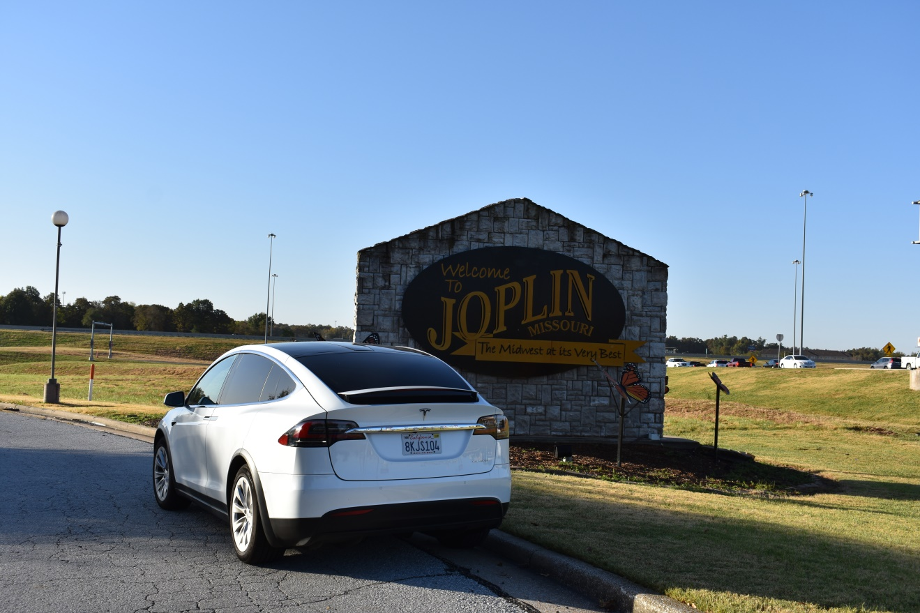 Proof that we actually were in Joplin, Mo